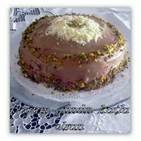 Çikolata Ve Şam Fıstıklı Pasta