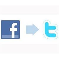 Twitter'ı Facebook'a Bağlamak Artık Daha Kolay!
