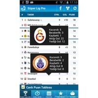 Süper Lig Pro, Android Türkiye Futbol Ligi Takip