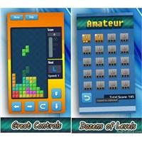 """Android Tetris Oyunu """"Blocks!"""""""