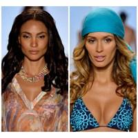 2014 Plaj Makyajı Ve Saç Modelleri