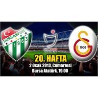 Yaratıcı Futbol Yoktu … Bursaspor 1–1 Galatasaray