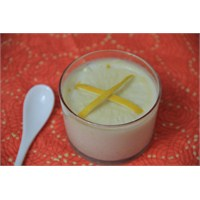 Limon Aromalı Sütlaç