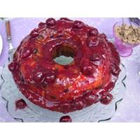 İkramlık Vişneli Kek