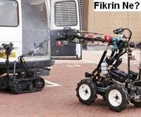 İngilizlerden Yangın Robotu