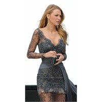 2014 Dantelli Elbise Modelleri