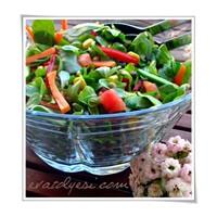 Mercimekli Semiz Otu Salatası