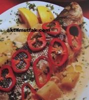 Fırında Sebzeli Levrek