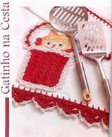 Kırmızı Mutfak İçin Dantelden Havlu Kenarı Modeli
