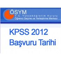 Kpss 2012 Başvuru Tarihi Açıklandı- Kpss Başvurusu