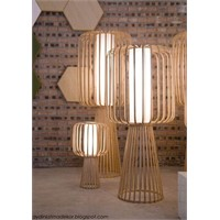 Sıcak Bambu Aydınlatmalar!