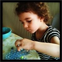 Sabunluğa Misket Dizmece- Montessori