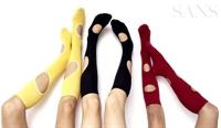 Yeni Trend : Delikli Çoraplar
