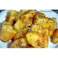 Haşlanmış Kavruk Patates
