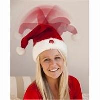Hareketli Müzikli Noel Baba Şapkası