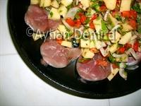 Fırında Sebzeli Palamut
