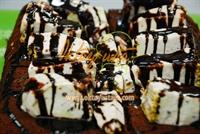 Yaza Özel Cevizli Dondurmalı Brownie