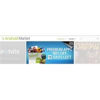 Android Market 3.4.4 Sürümüne Güncellendi