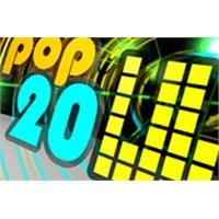 Haftanın En Çok Dinlenen Top 20 Pop Şarkısı