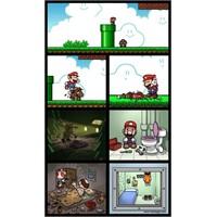 Mario Gerçek Hayatta Olsaydı…