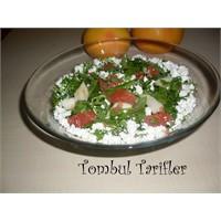 Greyfurtlu Elmalı Roka Salatası