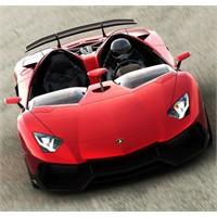 Türünün Tek Örneği Lamborghini Aventador J