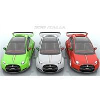 Ferrari Motorlu Fiat 550 İtalia Olur Mu?