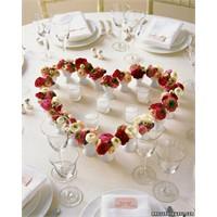 Sevgililer Günü İçin Masa Süslemeleri