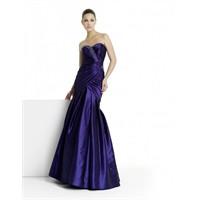 Luna Novias Askısız Uzun Abiye Elbise Modelleri