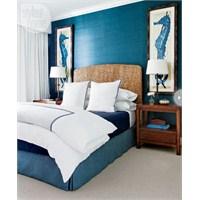 Mavi Yatak Odası Fikirleri