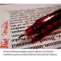 Kalem Rengi Öğretmen-öğrenci İlişkisini Etkiliyor
