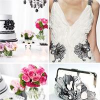 Siyah Beyaz Düğün İlhamları
