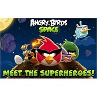 Angry Birds Space 10 Milyondan Falza İndirildi