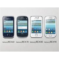 Samsung'dan 4 Yeni Rex İsimli Harika Telefon!..