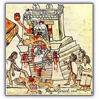 Azteklerin Kurban Etme Törenleri