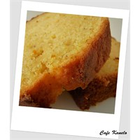 Cafe Kanelo'nun Portakallı Keki