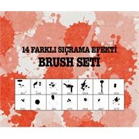 Sıçrama Efekti Brush Seti