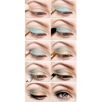Güzel Gözler İçin Göz Makyajı Resimli Anlatım