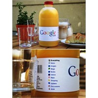 Google Meyve Suyu Fikri - Hayırlı İşler