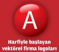 A Harfiyle Başlayan Vektörel Logolar