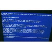 Windows'unuz Neden Çöküyor