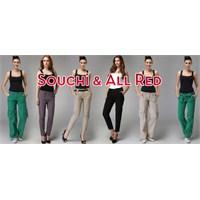 Souchi & All Red Pantolon