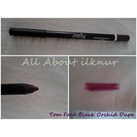 Tom Ford Black Orchid Lipstick Dupe Emily Lippenci