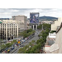 Barselona'nın Ünlü Caddesi - Passeig De Gracia