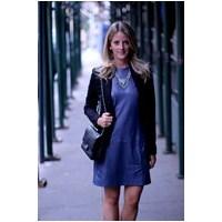 En Trend Deri Elbise Modelleri