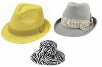 2010 Yazında Fötr Şapkalar Yine Moda