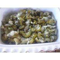 Fazlıkızından Salatalık Turşu Kavurması