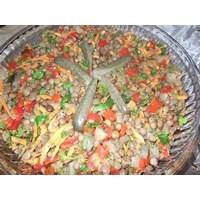 Havuçlu Mısırlı Mercimek Salatası
