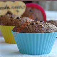 Çikolata Parçacıklı Kakaolu Muffin (Resimli)