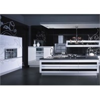Siyah Hazır Mutfak Modelleri